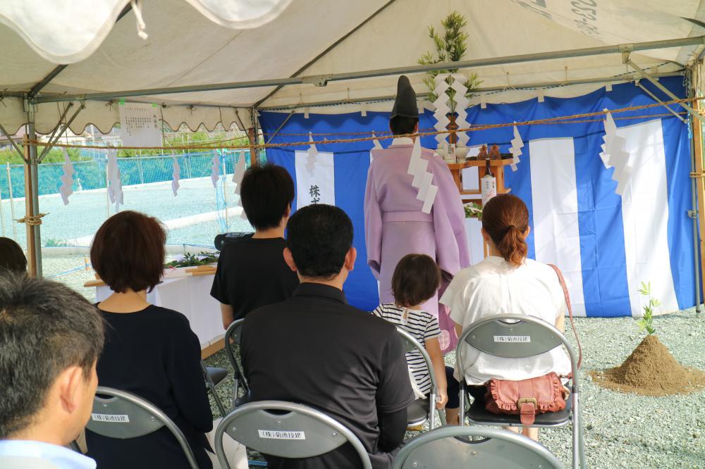 【新築住宅】東根市大字若木 S様邸 地鎮祭:画像