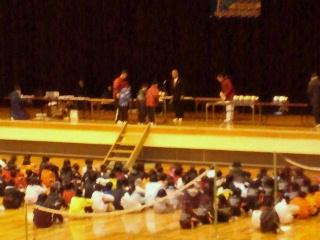 2012/03/29 17:10/今月の3月3日に行われた●第17回山形県小学生バドミントンシングルス大会