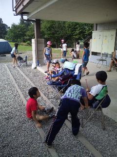 2012/08/02 19:42/2日目の朝ですが子供達は元気です!
