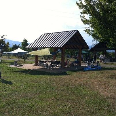 2012/08/22 05:56/10月にはこちらの公園で大規模なBBQ&芋煮会を予定してます