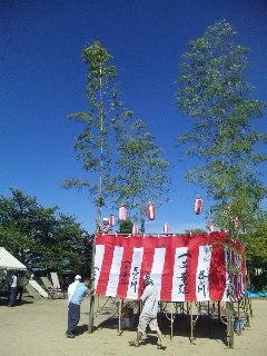 2012/08/22 06:04/この舞台の雰囲気イイですよね〜。