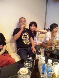 2012/09/06 05:34/こちら3次会でどSさん熱唱中!!!