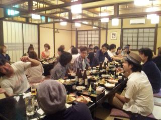 2012/09/06 05:32/懇親会と言う本講習スタート