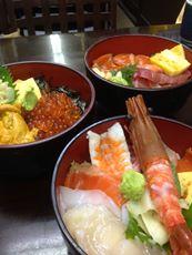 2013/09/01 17:30/海鮮丼が食べたくてw!