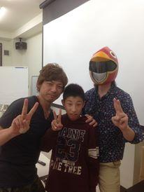 2013/10/29 07:03/長男と一緒に講習会に参加させていただきました。