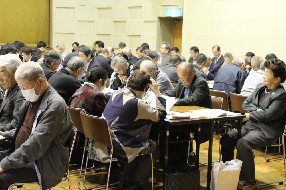 【平成28年度小松地区地域振興協議会・総会を開催】