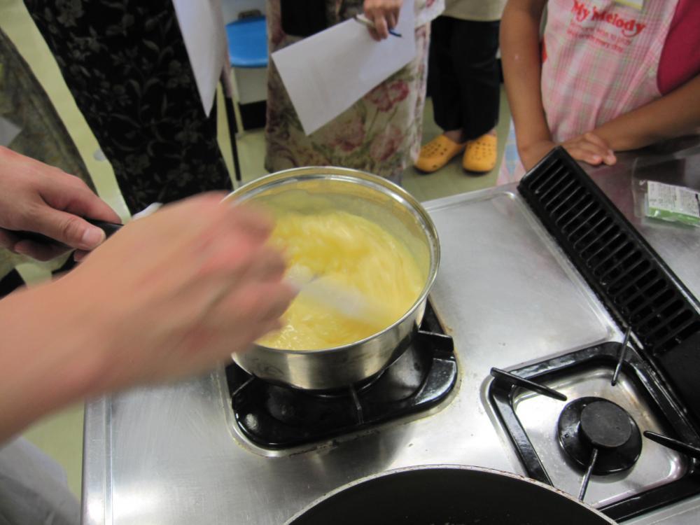 米粉のカスタードクリーム:画像