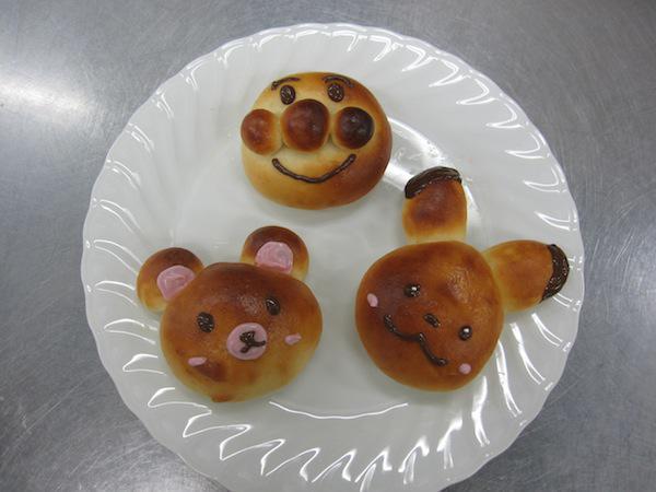 親子で楽しむ米粉パン(手ごねあんパン):画像
