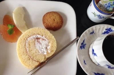 家庭料理・田忠/ 米粉ロールケーキ:画像