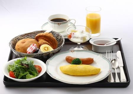 ホテルメトロポリタン山形・最上亭/  朝食(洋食)米粉パン:画像