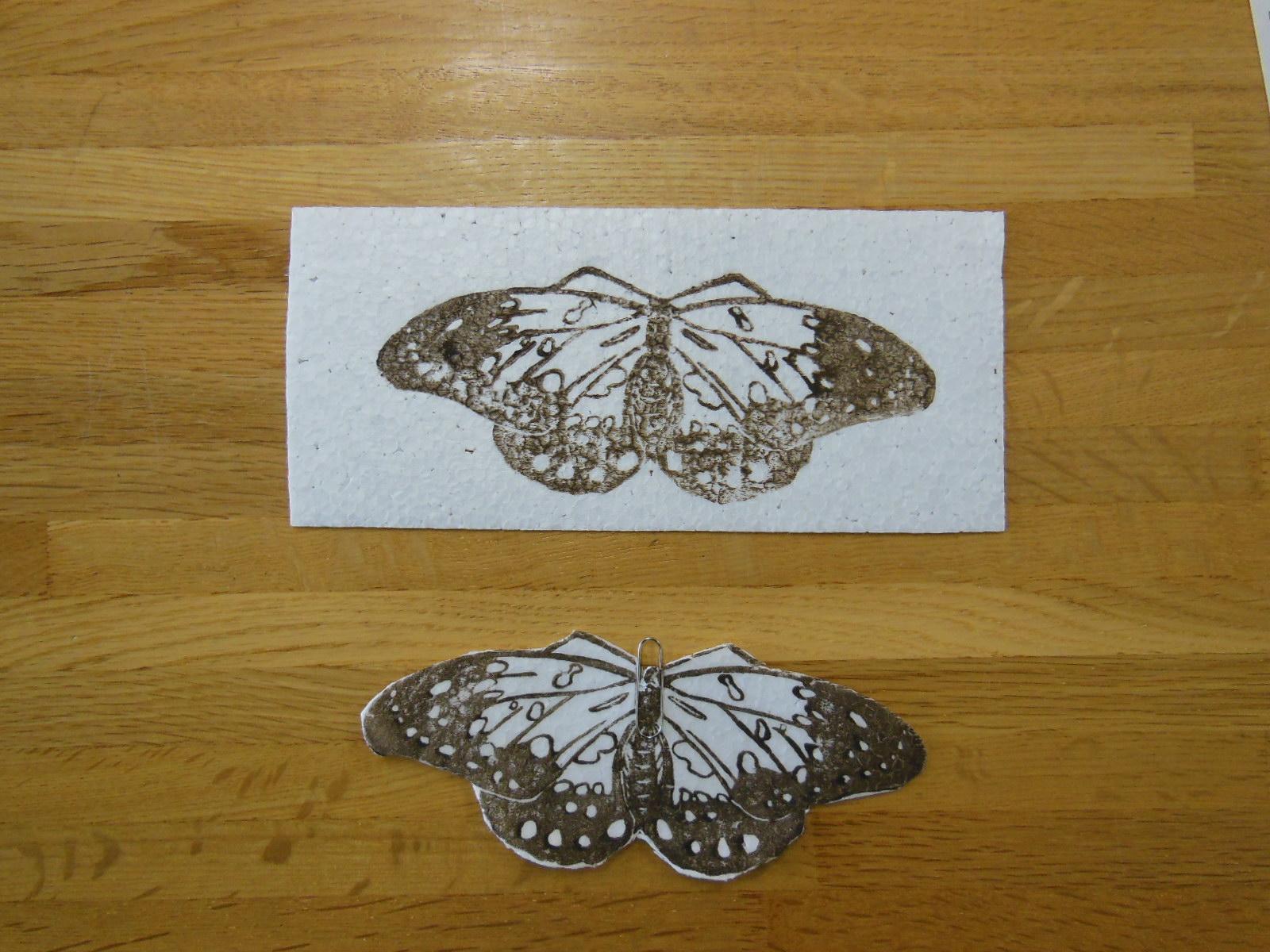 オオムラサキを作って飛ばそう!ワークショップ「チョウとばし」「チョウとばし大会!」
