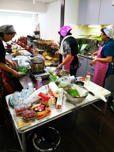 飯豊町の郷土料理イベント。