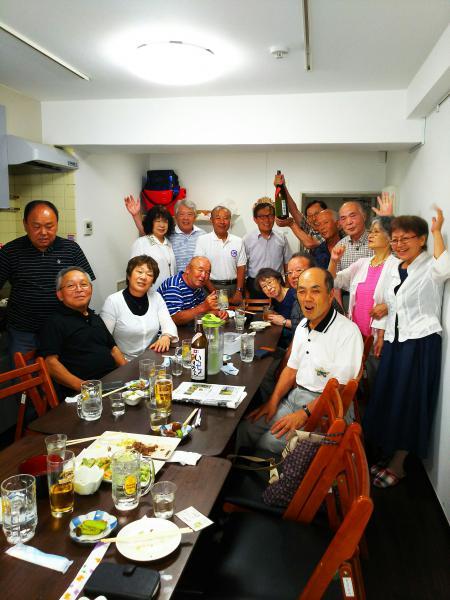 飯豊中学校第三回卒業生同窓会。