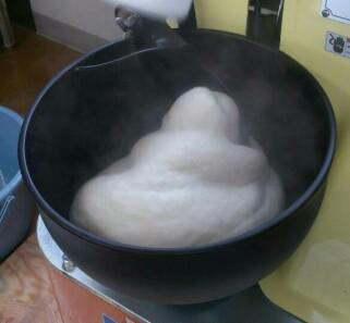 母ちゃんの手作り 「杵つき餅」!