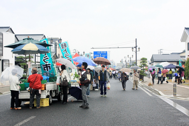 明日、軽トラ市in天童 開催