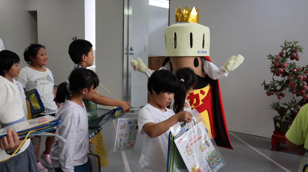 川西町立犬川小学校3年生のみなさん