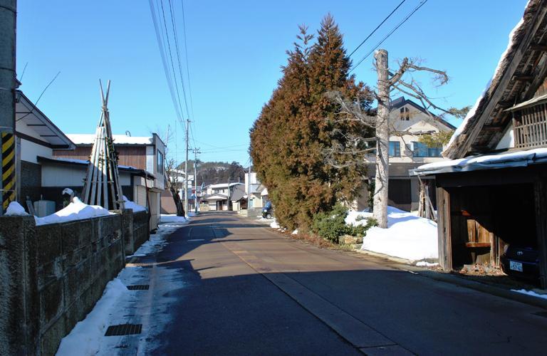 イザベラ・バードの通った道(山形県川西町小松編)その5