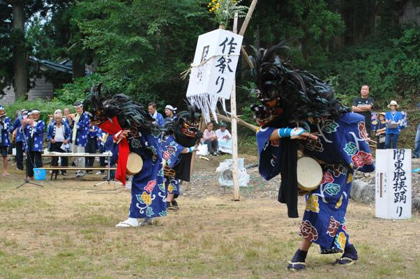 米沢市 綱木獅子踊り
