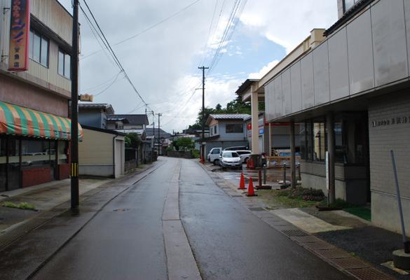 イザベラ・バードの通った道(山形県川西町編)その5(N02) 小松宮町