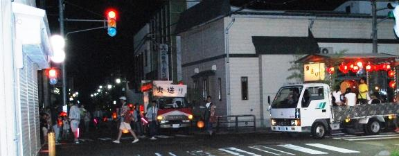 イザベラ・バードの通った道(山形県川西町小松編)木工クラフトN02(坂の上)