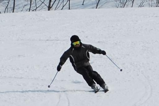 米沢スキー場で