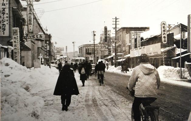 米沢市内昭和30年代末頃