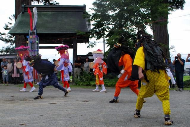 豊年獅子踊り(大光院)