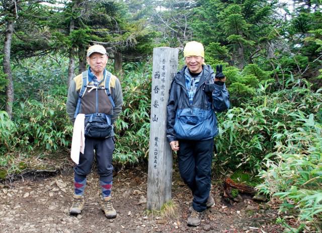西吾妻山登山(吾妻小屋から山頂)