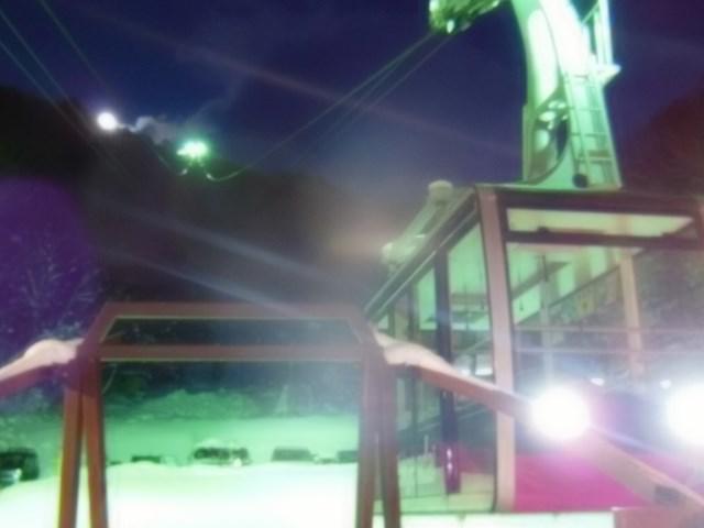 天元台高原大晦日の日で