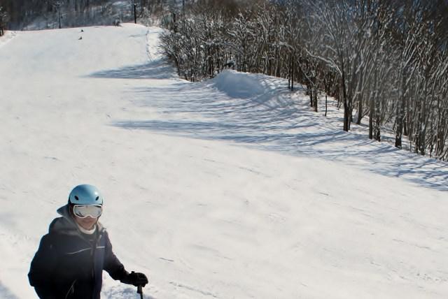 今年度2回目のシニアスキー講習(米沢スキー場)