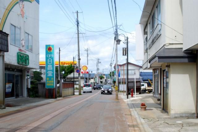 イザベラ・バードの通った道(山形県川西町編)その12・No2 小松坂の上