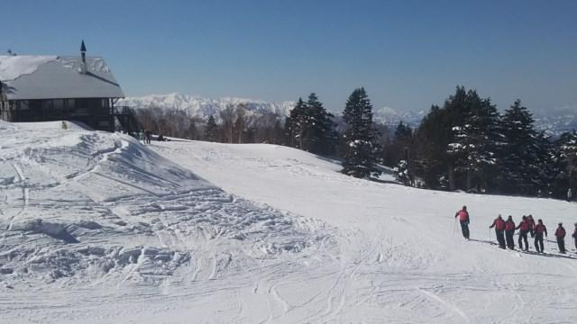 スキー日和天元台