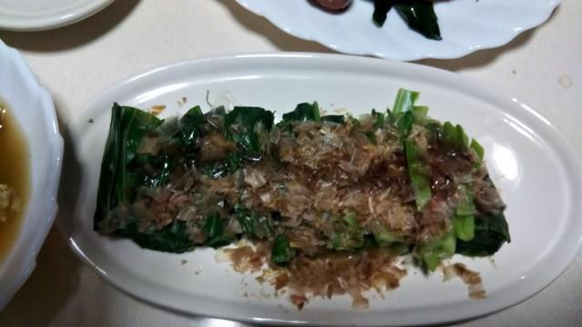 ゴールデンウイークは山菜