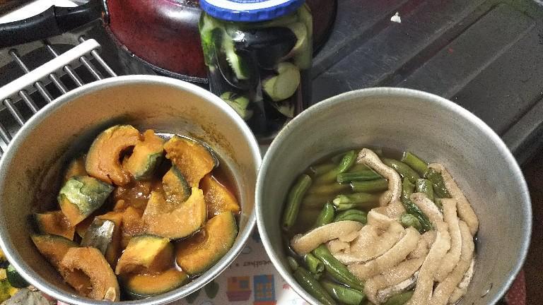 家庭菜園野菜で