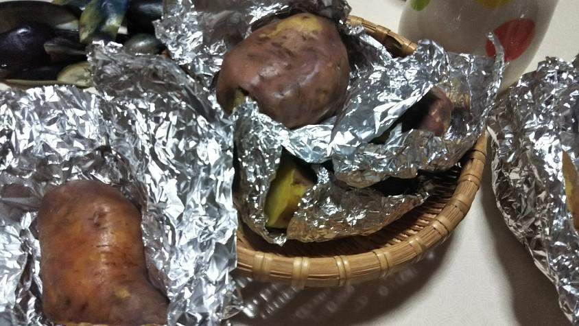 焼き芋(安納芋)