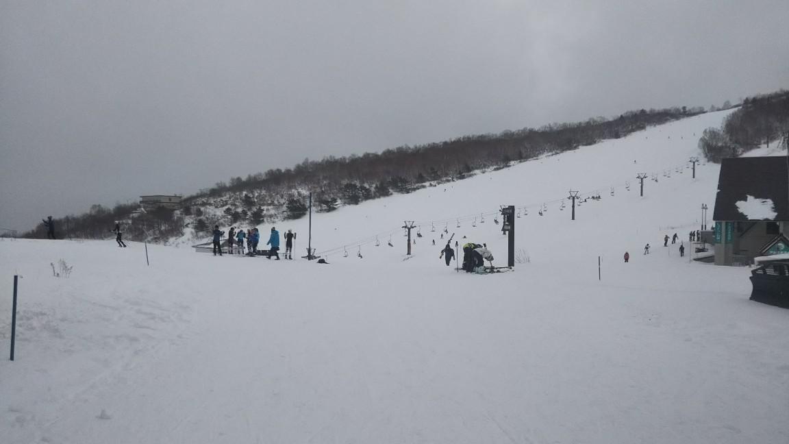 置賜地区基礎スキー指導員会開催のスキー講習