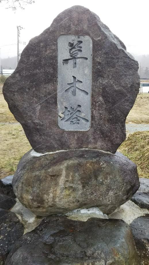 米沢市の世町桑山(旧万世小学校跡地)の一本松
