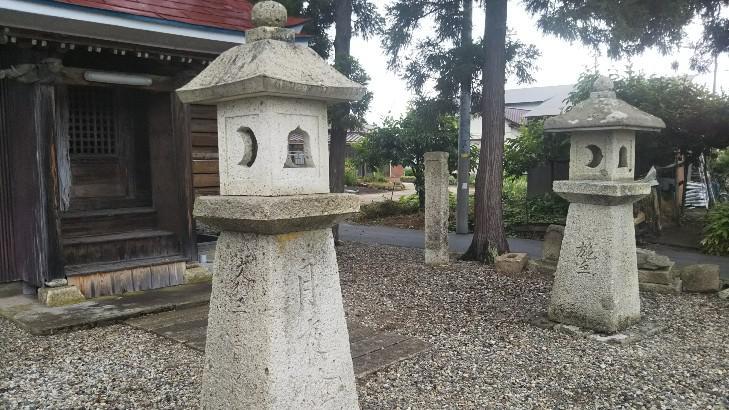 観世音堂(窪田町上矢野目鎮守)『虎列刺大明神』