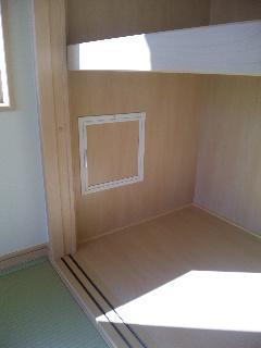 壁の中が確認できる外断熱の家