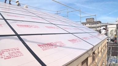 大東住宅は屋根も外断熱:画像