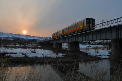 冬の列車アルバム