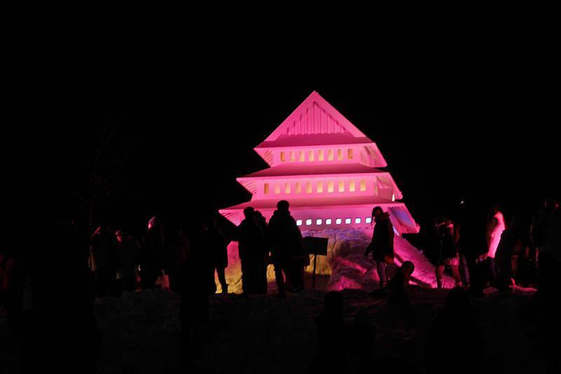 上杉雪灯篭祭り 2018