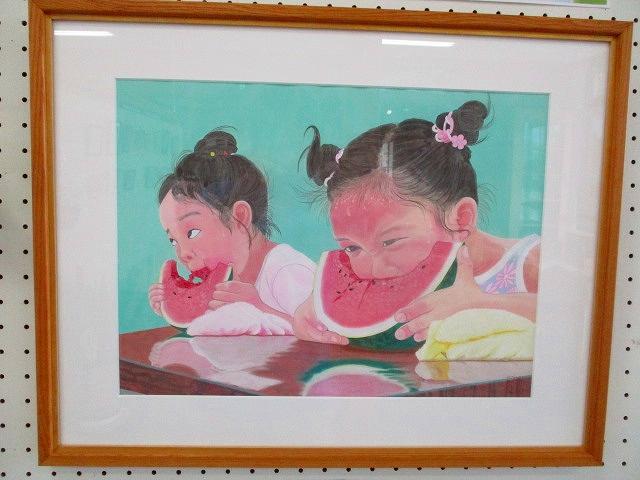 「�橋 登 絵画展」 開催中です♪:画像