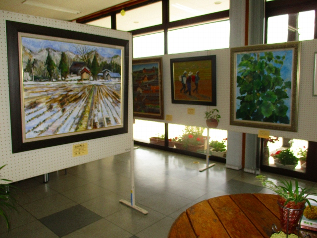 North rainbow society art exhibition, now being held! : Image