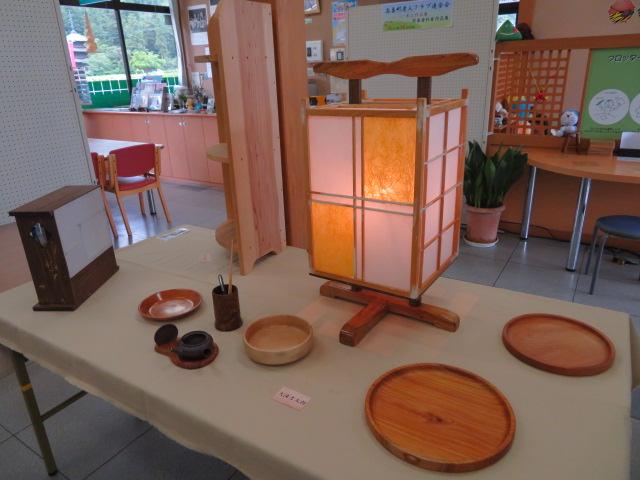 「木工作品展」開催中です。:画像
