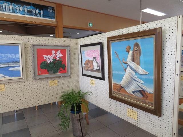 絵画展を開催中です!!:画像