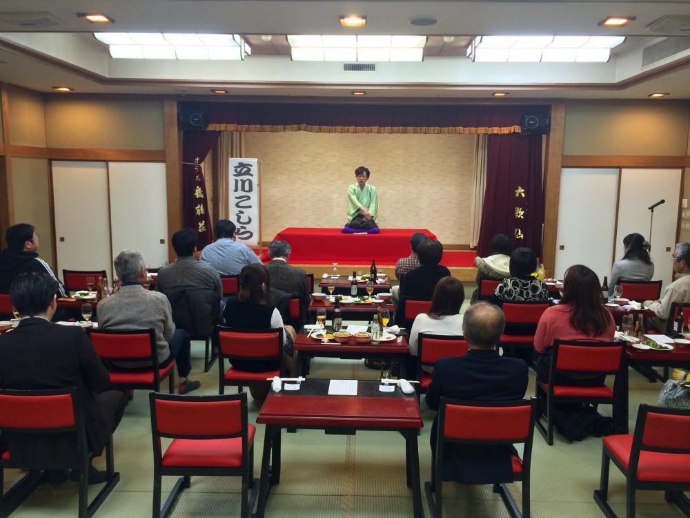 天童温泉落語会 舞鶴荘寄席 大好評でした!