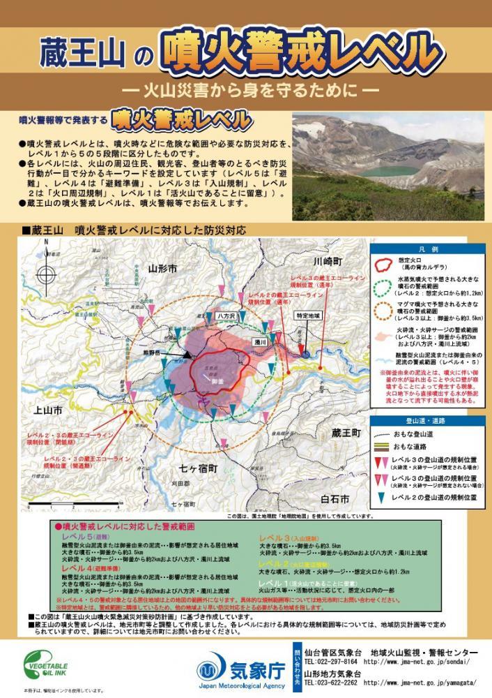 当館は噴火口から20Km以上離れています:画像