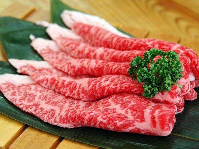米沢牛霜降りもも肉:画像
