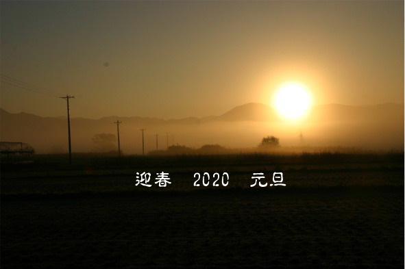 東京オリンピック2020の年がスタート 雪のないお正月 今年は暖冬かな?